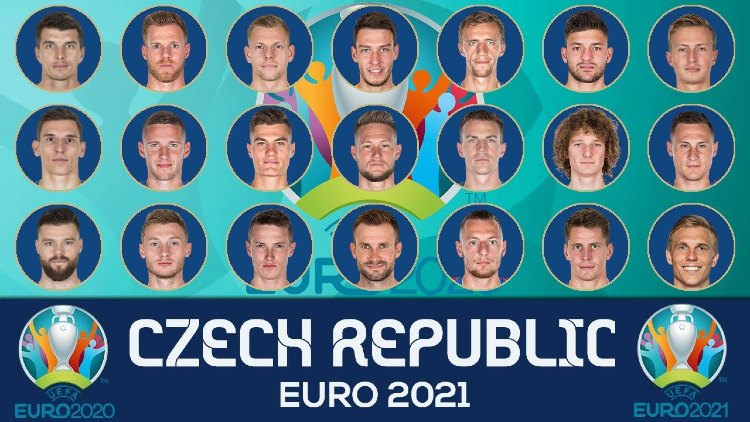 Euro 2021 CZECH REPUBLIC Squads List
