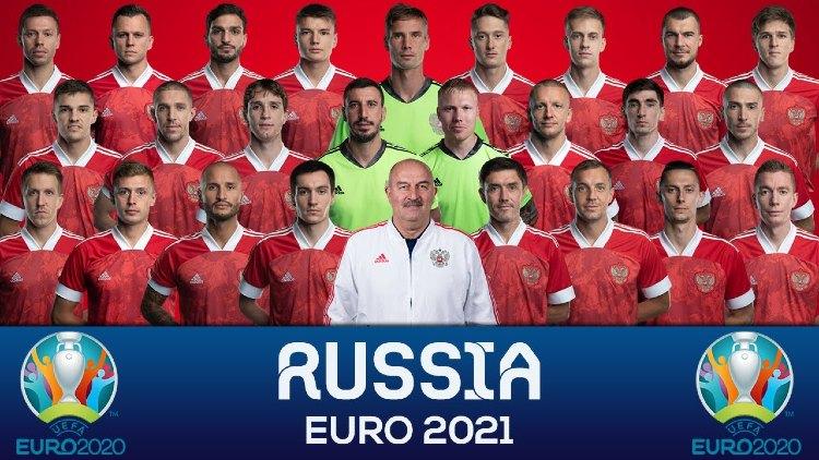 Euro 2021 RUSSIA Squads List
