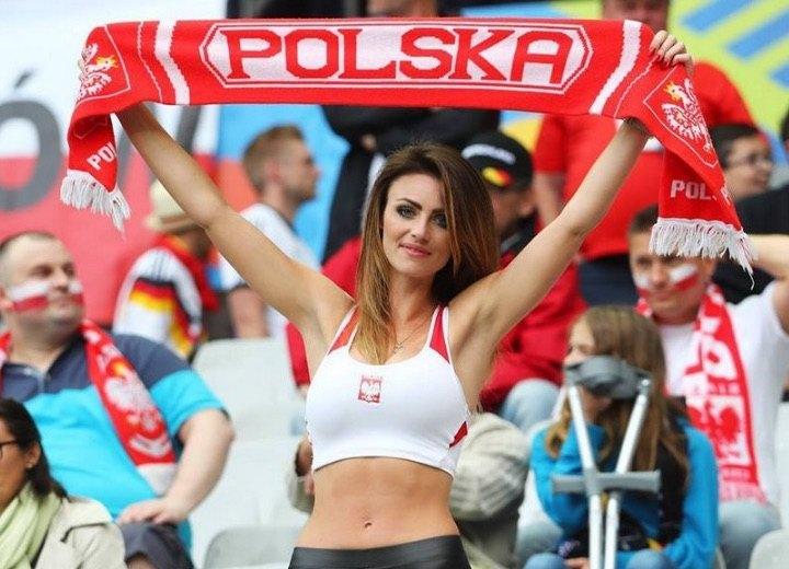 Polska football beautiful fans
